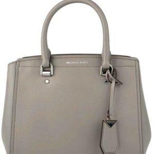 MICHAEL KORS Handbag Benning Md-Messenger Pearl Gr